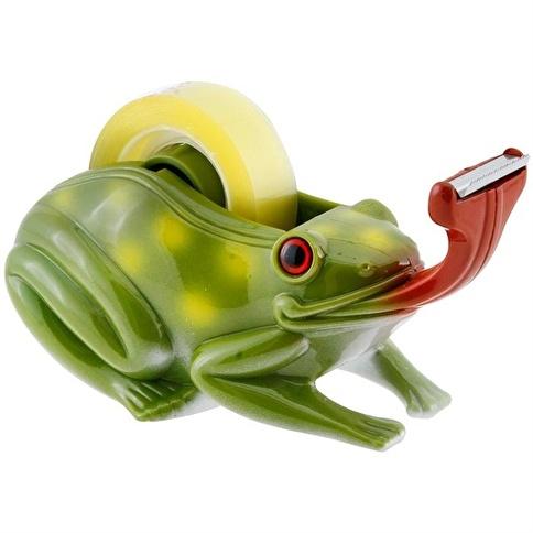 Necotoys Kurbağa Figürlü Bant Makinesi Renkli